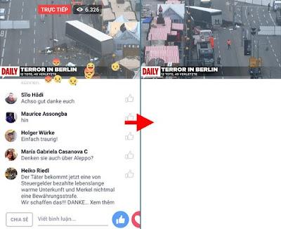 Cách tắt chat khi xem live stream Facebook trên di động