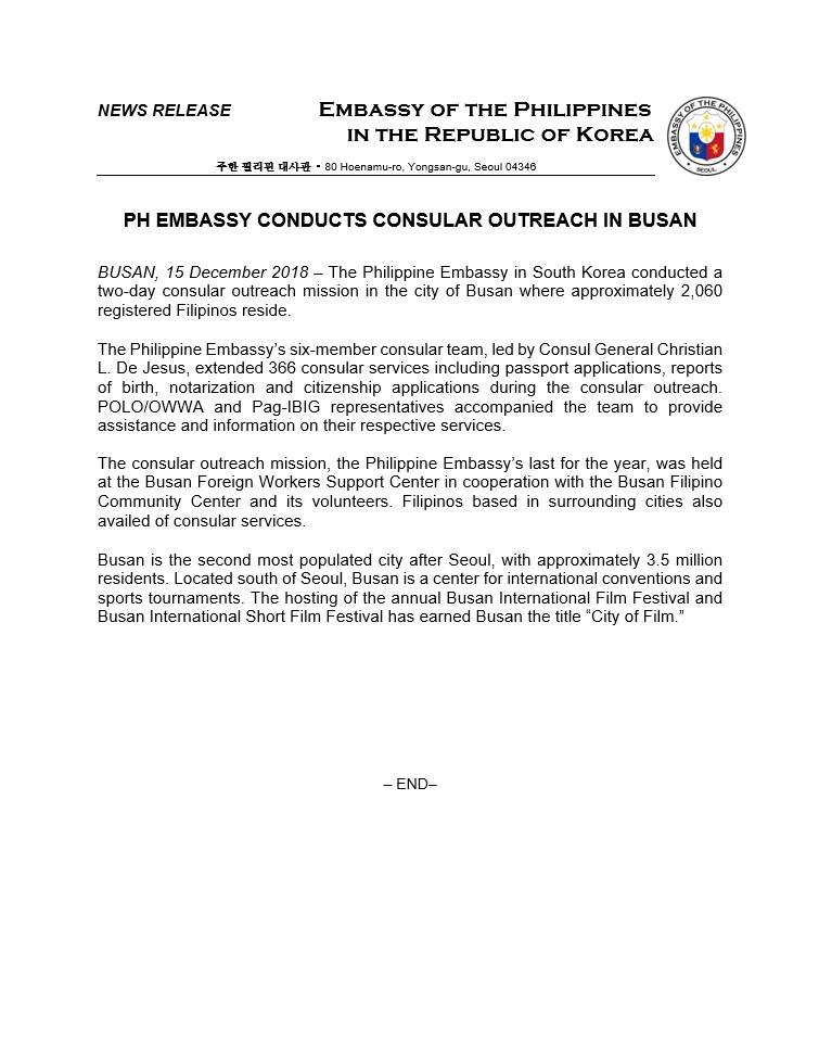 Korea News | Filipinos in Korea