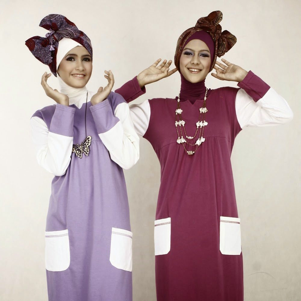 Busana Muslim Wanita Remaja Terpopuler 2015