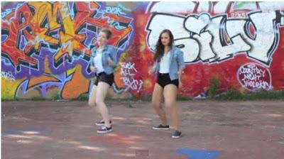 Two White Girls Dancing Etighi To Iyanya's Kukere