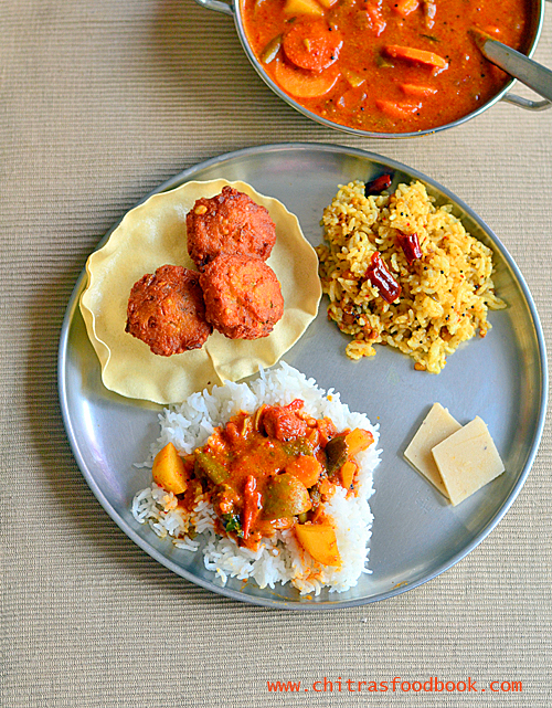 arachuvitta sambar without dal