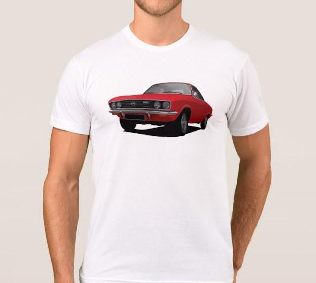 Opel Manta A t-shirt