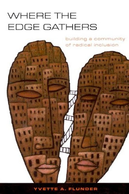 Book cover: where the edge gathers: building a community of radical inclusion, by yvette a. flunder