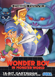 Wonder Boy in Monster World (BR) [ SMD ]