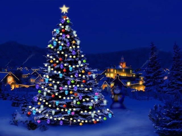 free animated christmas lights clipart - photo #40