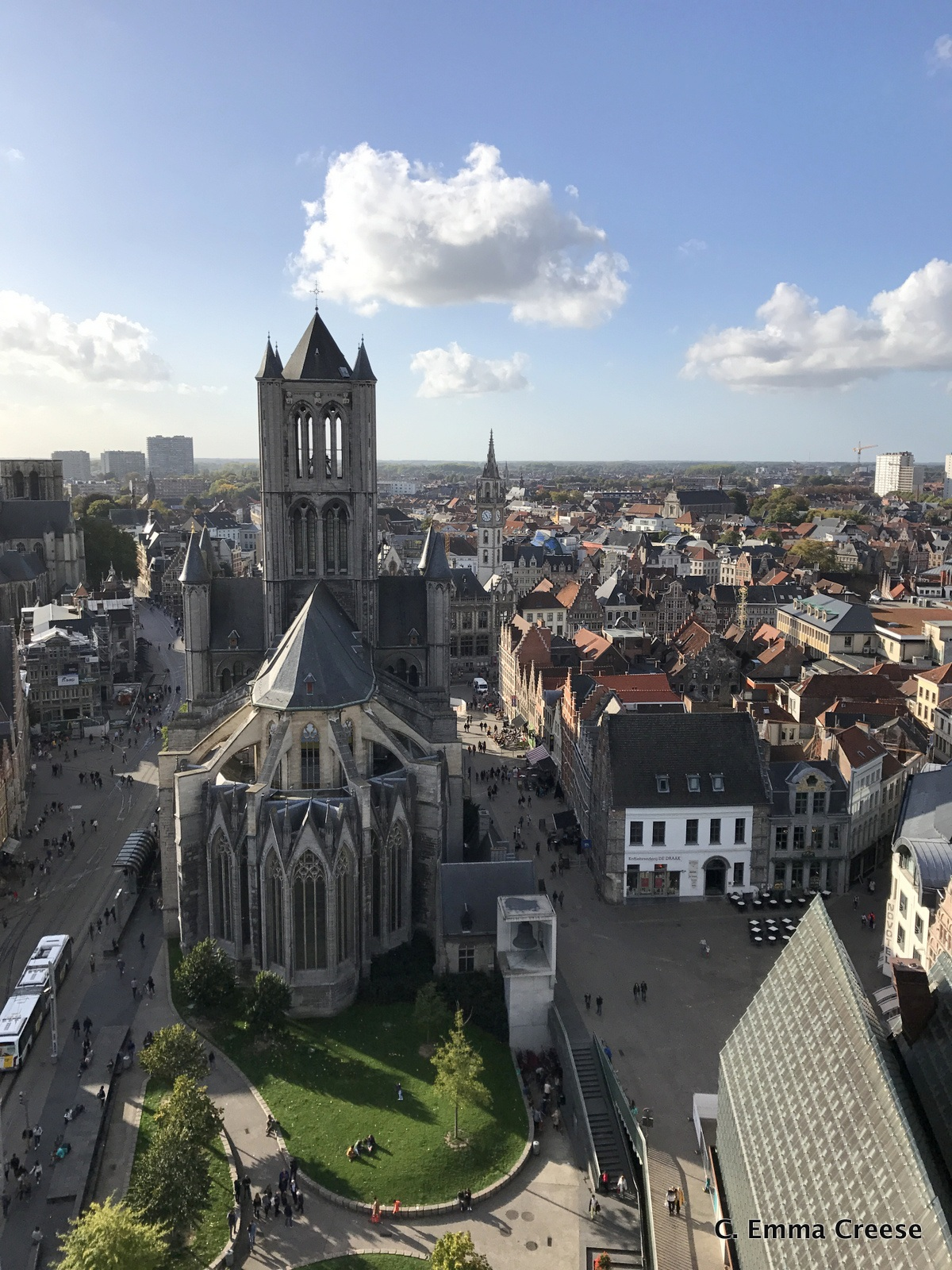 Getting Lost in Ghent, Belgium