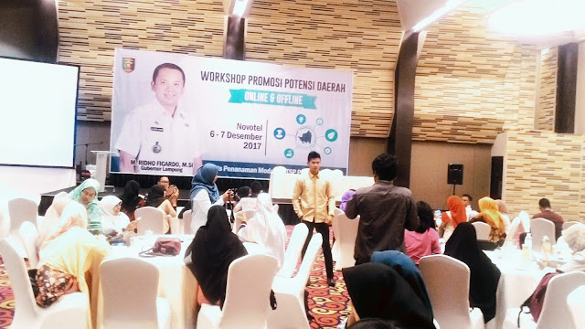 Workshop Promosi Potensi Lampung