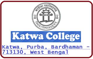 Katwa College, Katwa, Purba, Bardhaman - 713130, West Bengal