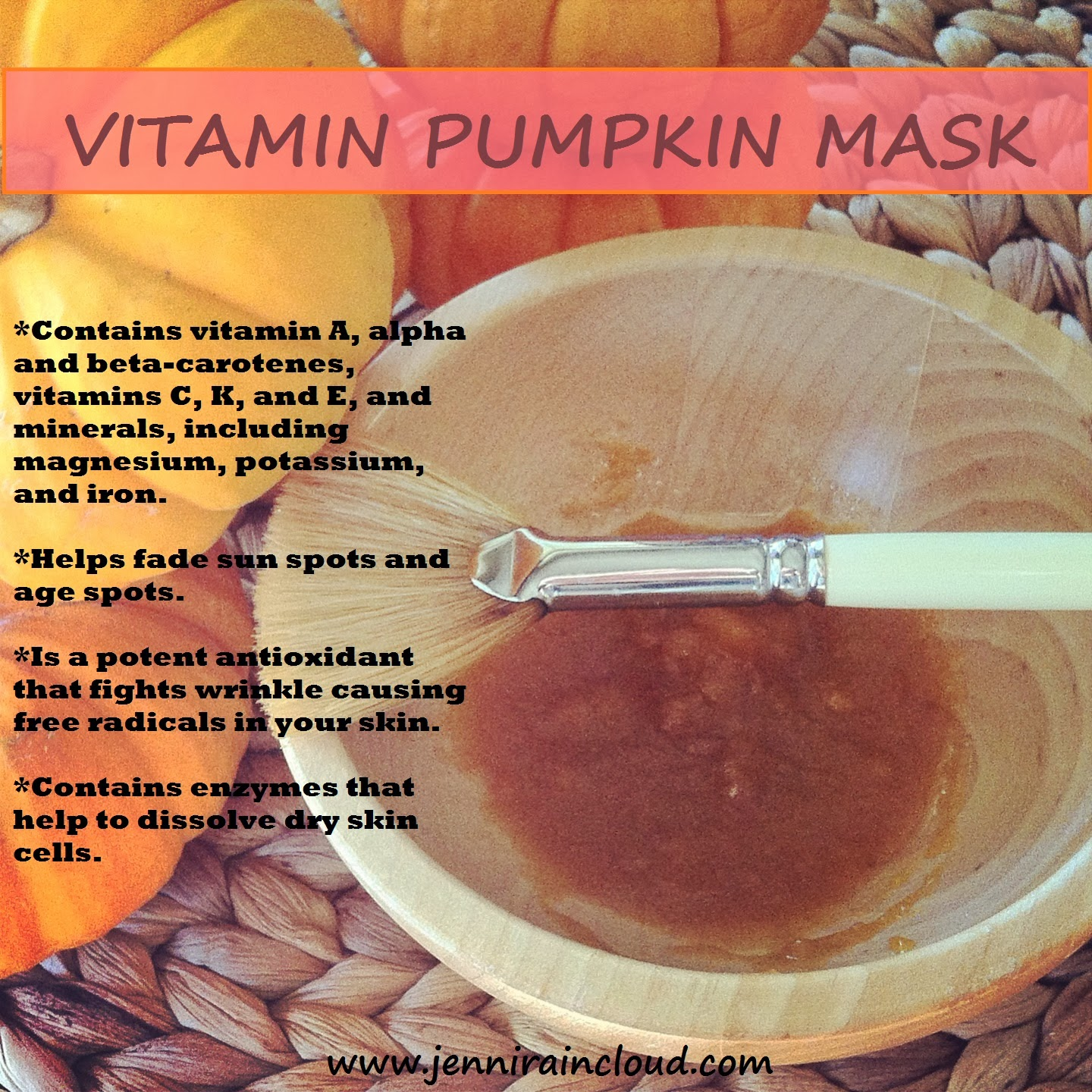 homemade pumpkin mask