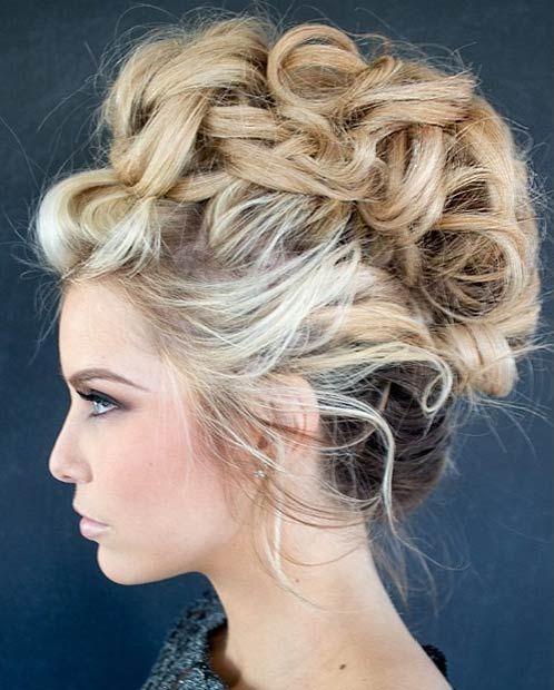 Trendy Mohawk Updos The Haircut Web