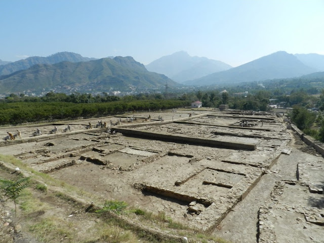 Traces of Alexander city found in Swat