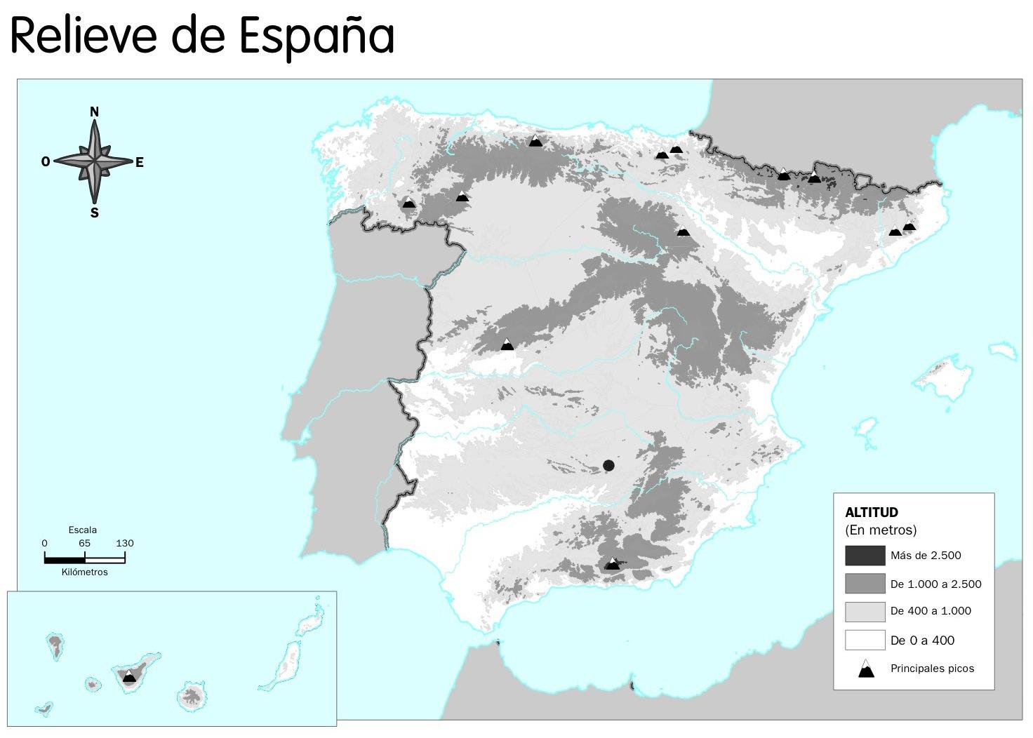 X 4 Primaria San Agustn 1617 MAPAS MUDOS IMPRIMIBLES