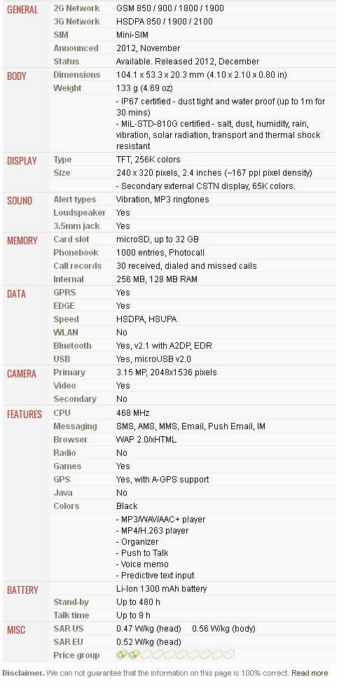SAMSUNG RUGBY III A997