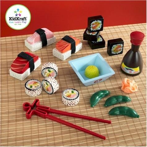 Daily Cheapskate Kidkraft Sushi Dinner Set For 15 99 On Amazon