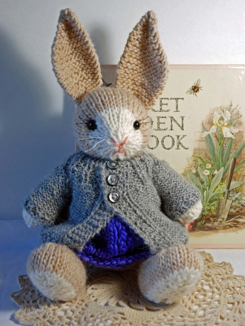 Francis the Easter Bunny - Free Pattern
