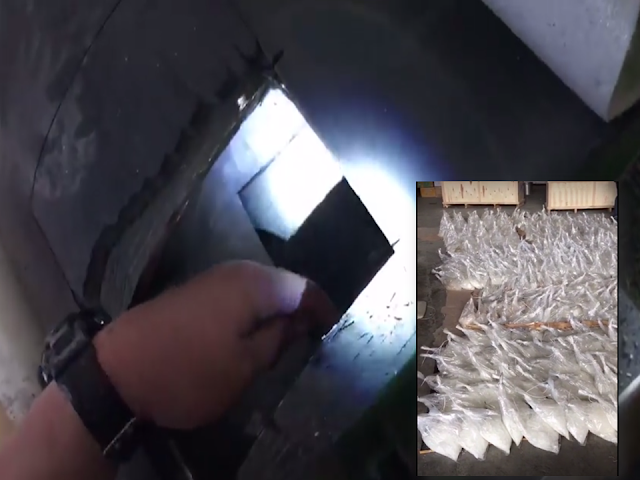 """The Bureau of Customs discovered P6.4 Billion worth of the illegal substance commonly known as """"shabu"""" smuggled inside metal cylinders in Valenzuela. A total of 604 kilograms of shabu hidden inside 5  metal cylinders was discovered by BOC Officers headed by BOC Chief Nicanor Faeldon. A social media post with video clips from the BOC Commissioner shows that the huge amount of illegal substance was hidden inside metal cylinders. The authorities needed to cut the cylinders open with the use of an angle grinder to reveal what's inside it.     The BOC operation in Navotas revealed that drug smugglers are doing everything to keep their trade alive and becoming more resourceful in spite of the strict government campaign to end drug trade in the country. Netizens lauded the BOC officers being kin in spotting illegal drugs no matter how ingenious the smugglers are.  Source: Commissioner Faeldon FB Page"""