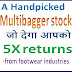 A Handpicked  Multibagger stock for 5X returns -from footwear industries