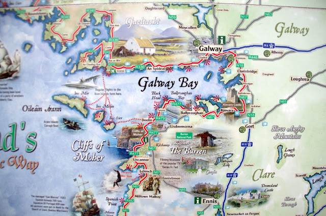 Sixt Car Hire Ireland Galway Map