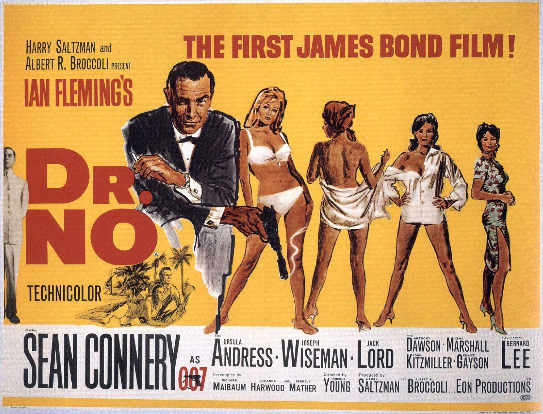 Popular Cinema Survey James Bond Retrospective 1 Dr No