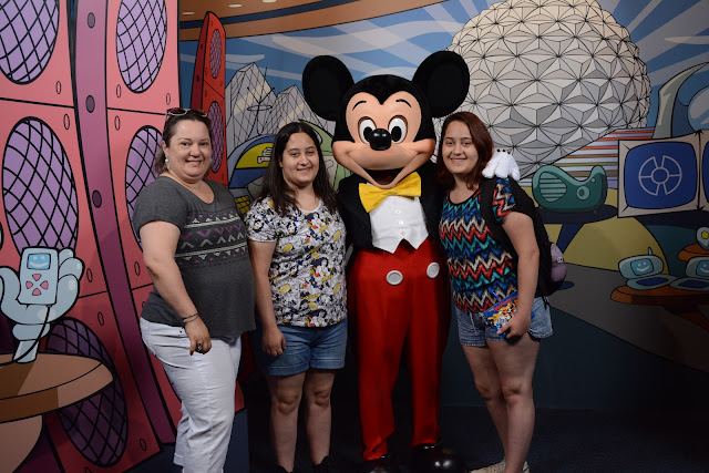 Mickey no Epcot