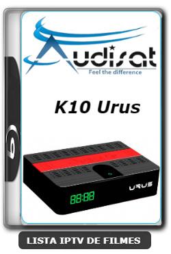 Audisat K10 Urus Nova Atualização Melhorias no Sistema V2.0.47 - 22-01-2020