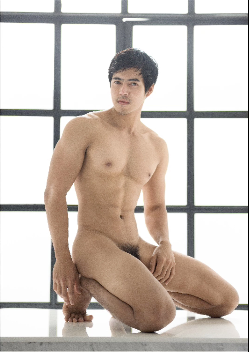 Hot male asian naked
