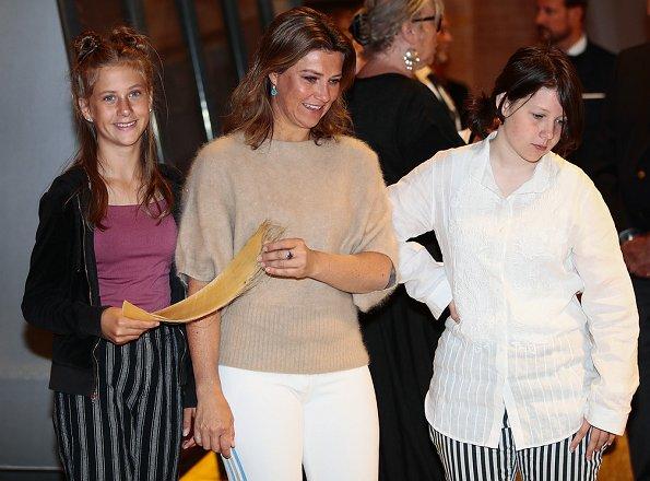 Queen Sonja, Crown Princess Mette-Marit, Princess Ingrid Alexandra, Märtha Louise, Emma Tallulah, Leah Isadora and Maud Angelica Behn