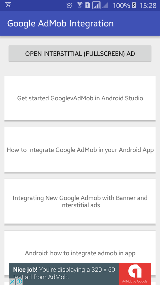 AdMob is multi platform mobile advertising network that allows you to monetize from your  How to Integrate Google AdMob in Android