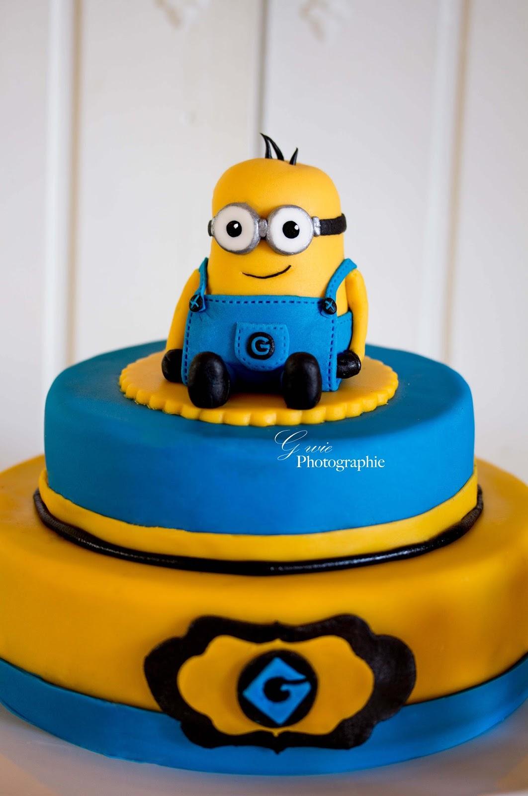 G Wie 5 Geburtstag Glenn Minions Sweet Table