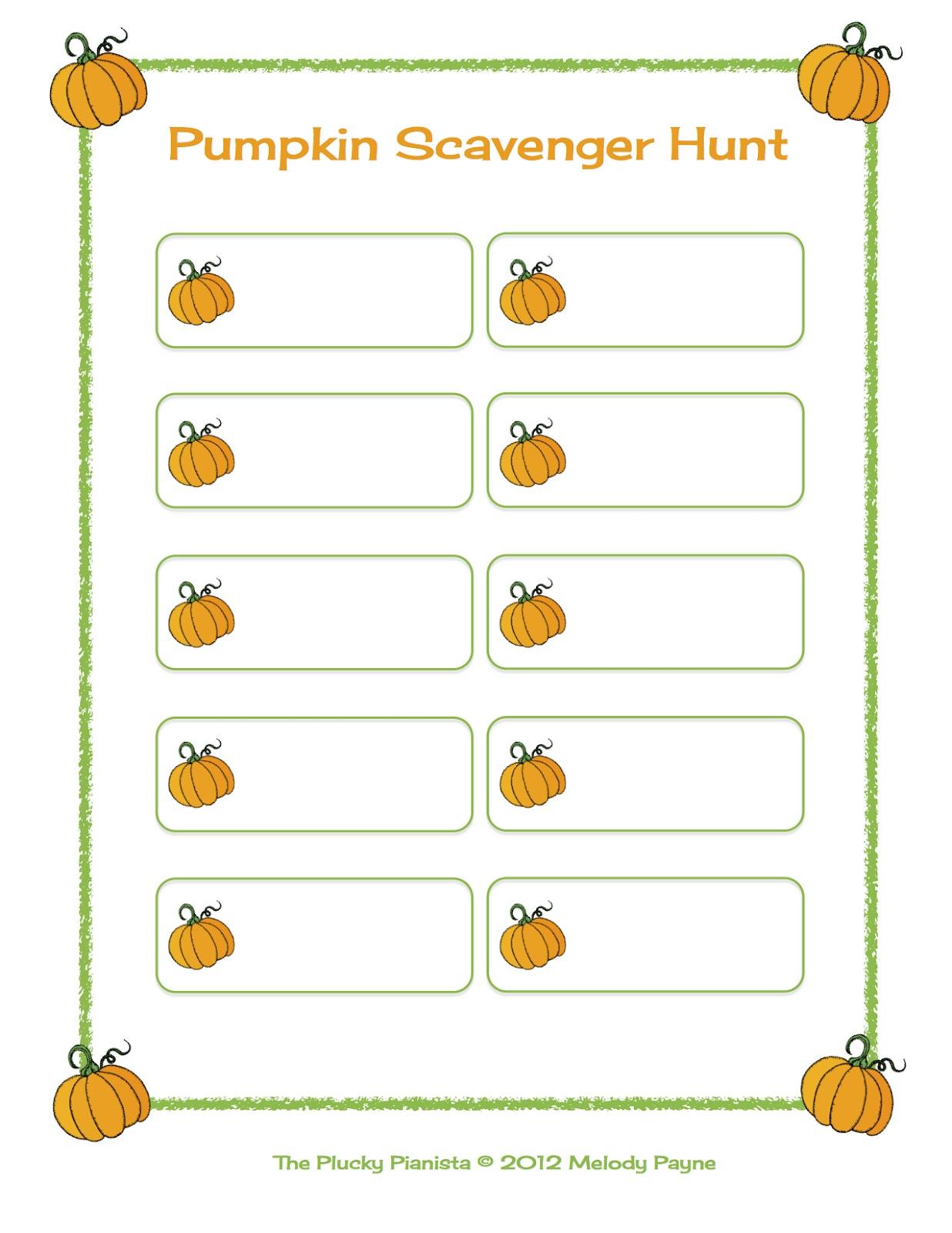 Happy Fall Y All It S A Pumpkin Scavenger Hunt