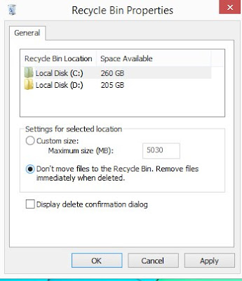 Cara Menghapus atau Menyembunyikan Recycle Bin di Windows