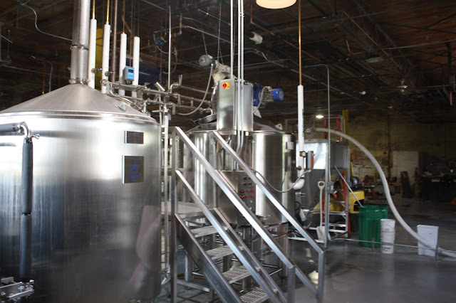 Microbrewery at Old Bakery Brewery in Alton, Illinois