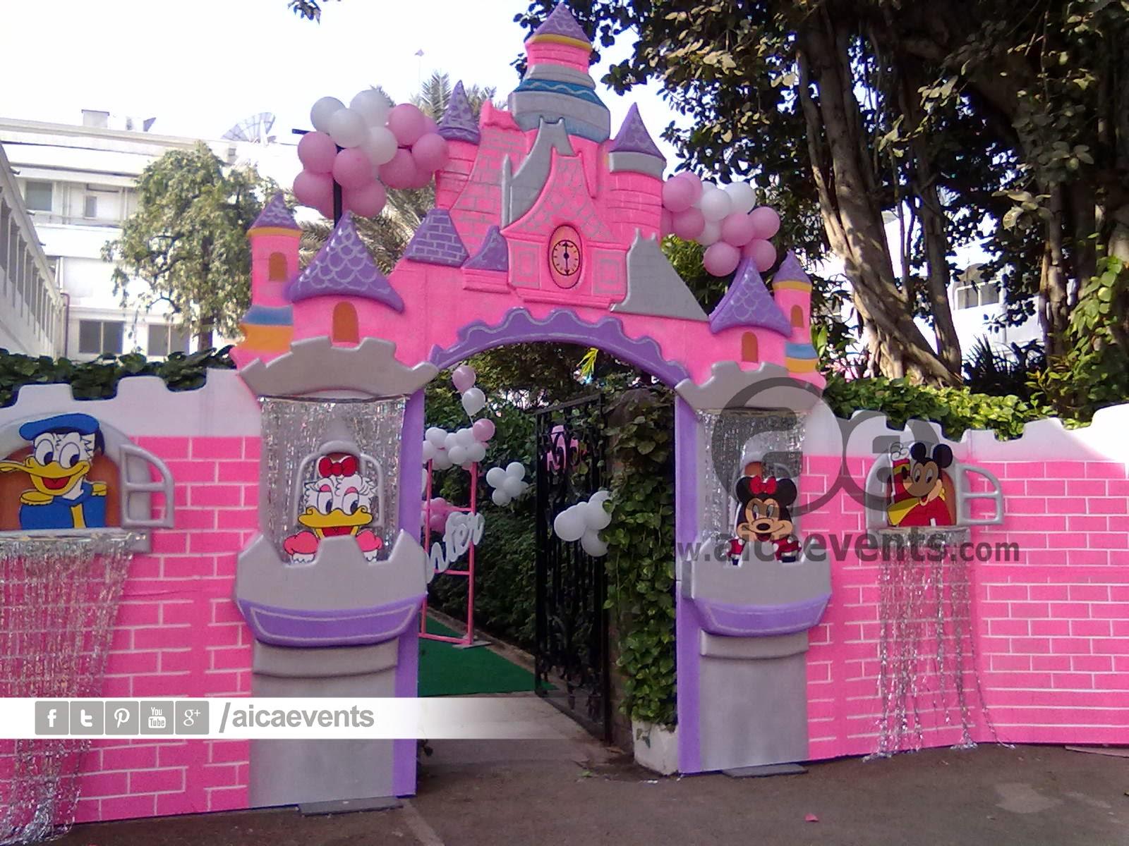 aicaevents: Castle and Princess Theme Decorations