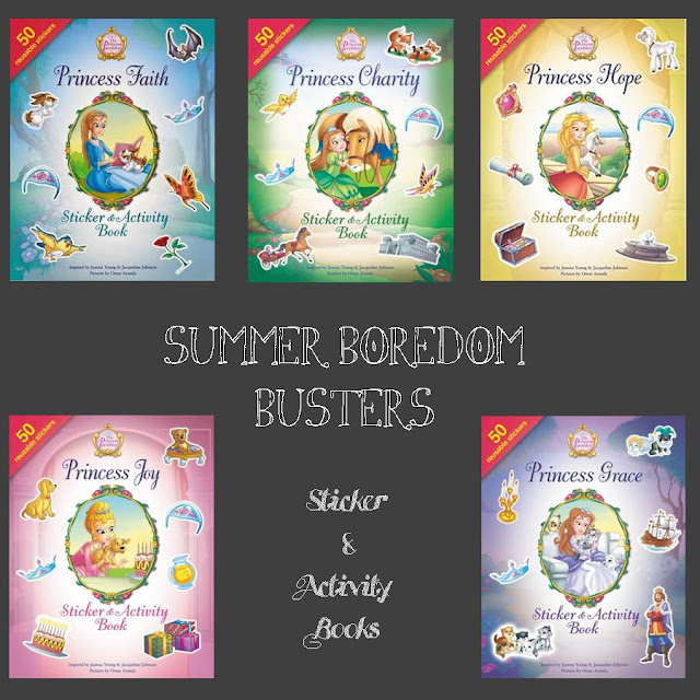 Summer Boredom Busters ~ The Princess Parables Sticker & Activity Books