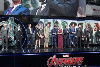 ابطال فيلم Avengers