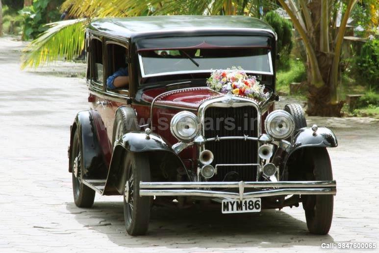 Vintage Car Rental In Alappuzha Sia Cars Wedding Car Rental