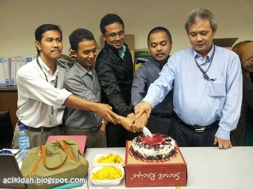 Majlis Harijadi Jan-Mac 2014 DBKL Team