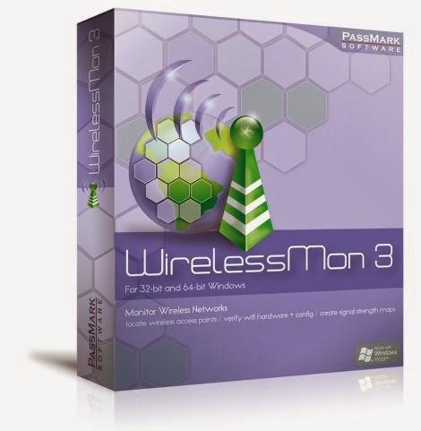 تحميل برنامج البحث عن واي فاي 2018 WirelessMon احدث اصدار