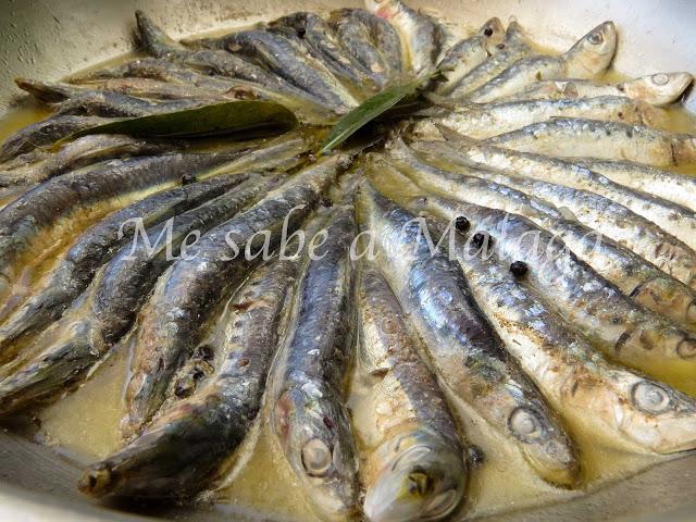 receta malagueña de sardinas en cazuela