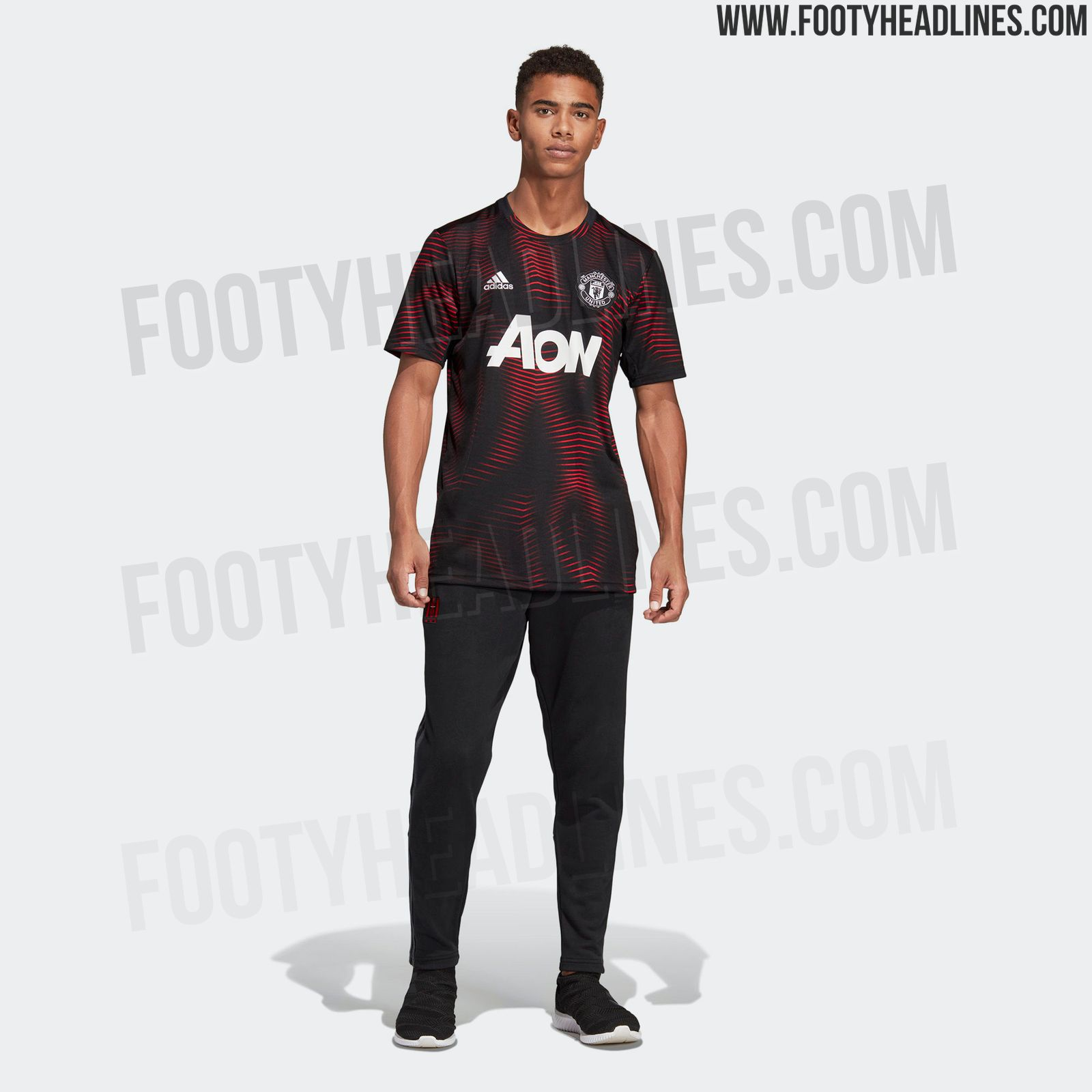 Stunning Manchester United 2019 Pre-Match Shirt Leaked