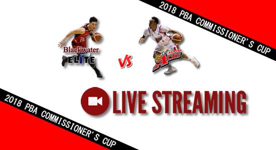 Livestream List: Blackwater vs Alaska April 29, 2018 PBA Commissioner's Cup