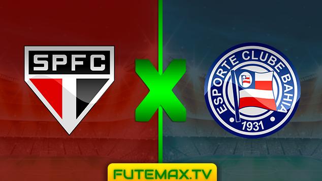 Assistir SÃO PAULO X BAHIA ao vivo online - Copa do Brasil - 22/05/2019 21h30  com transmissão do canal GLOBO (SP e parte da rede), SPORTV e PREMIERE (FUTEMAX)