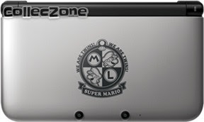3DS XL Super Mario Edition - Silver
