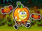 Play Spongebob Halloween Run game