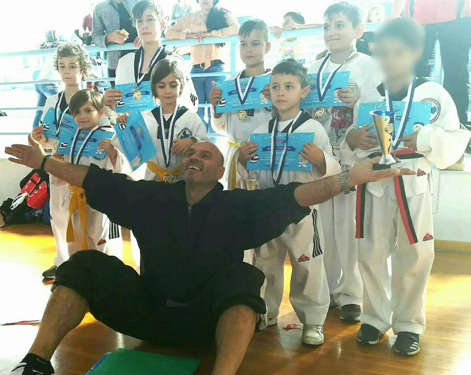 """Ο Α.Σ. """"ΜΥΡΜΙΔΟΝΕΣ"""" Λάρισας στο 6 Διασυλλογικό Πρωτάθλημα στην Λάρισα"""