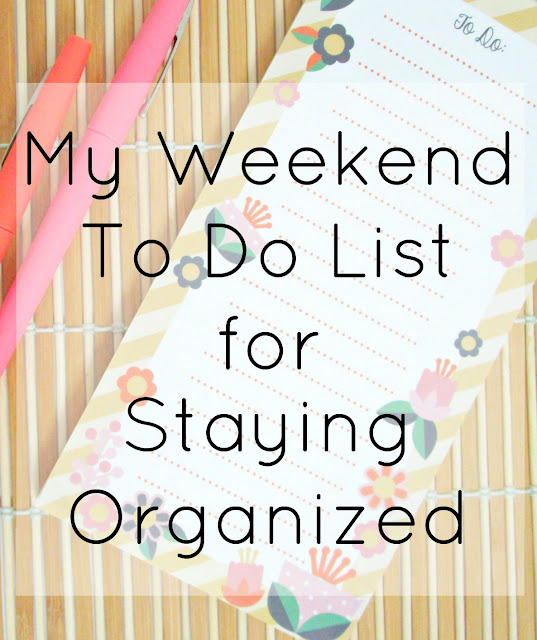 5 Things I Do To Stay Organized