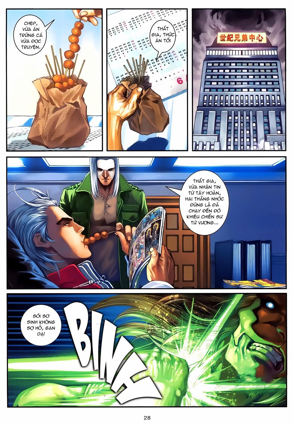 Quyền Đạo chapter 9 trang 28