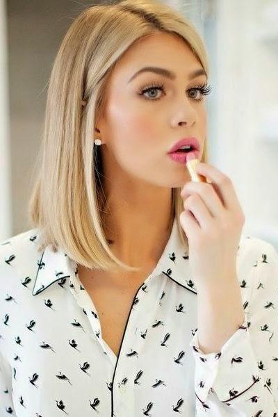 Stylish Blonde Lob Long Bob Najwygodniejsza I Najbardziej Trendy