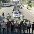 Siaga Keamanan,  Petugas Konvoi Susuri Jalan Kota