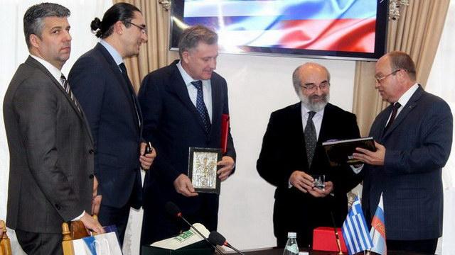 Συμφωνία συνεργασίας μεταξύ φορέων του Έβρου και της Κριμαίας